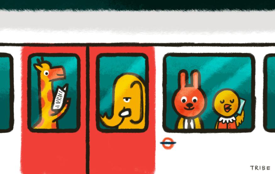 Londonist Underground: Tube Animals