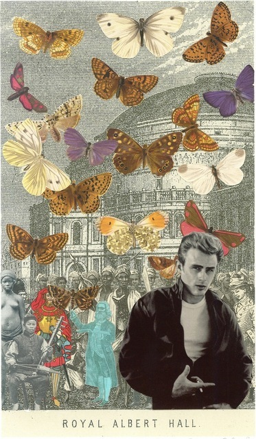 Peter Blake, James Dean at the Royal Albert Hall. Courtesy Paul Stolper