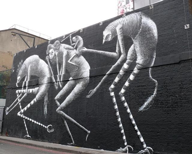 Street Art: Phlegm Paints Up Village Underground