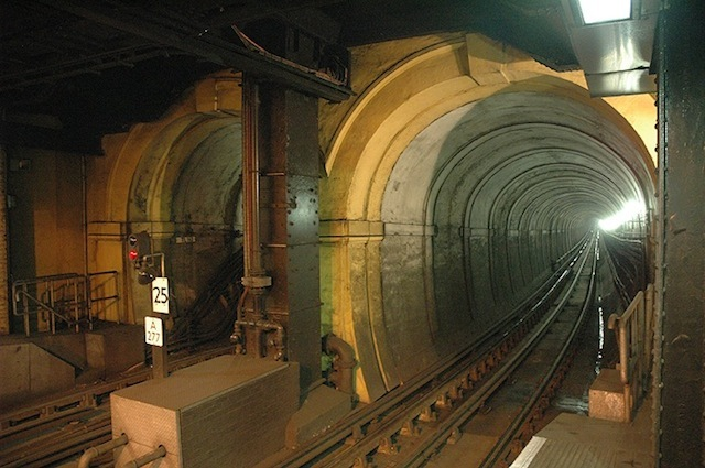 The entrance to the Thames Tunnel at Wapping, taken before the Overground, by Stephen D'Eath.