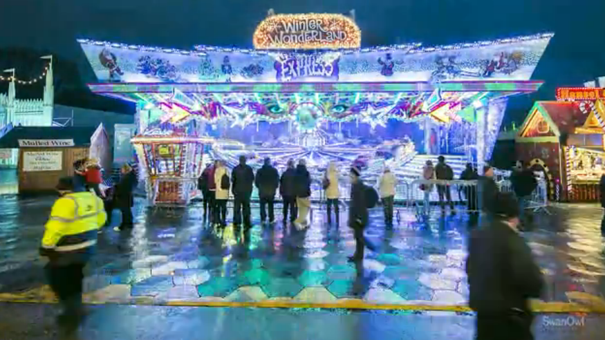 Timelapse Video Of Hyde Park's Winter Wonderland