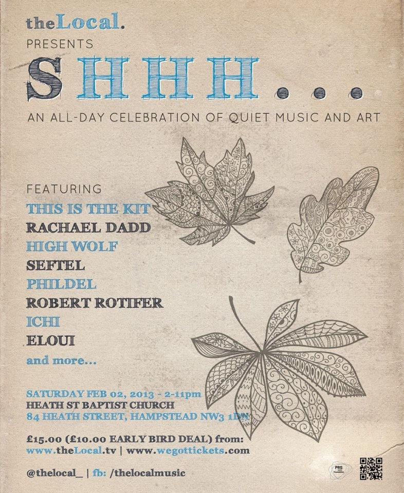 Preview: Shhh Festival Of Quiet Music