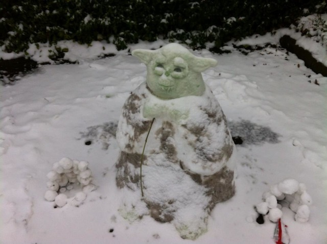 A Snowda, captured at Elstree Studios (where the Star Wars films were shot), just north of London.