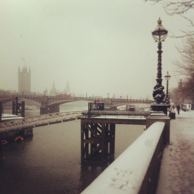 Lambeth Bridge by Olly Denton