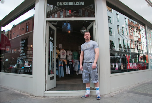 Mark, DV8, Dean St/Old Compton Street (now closed)