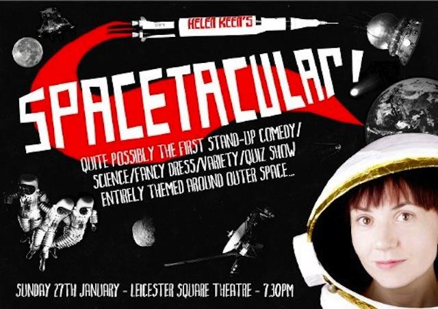 Helen Keen's Spacetacular! Line-Up Announced