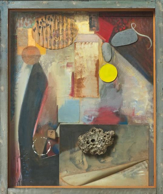 Kurt Schwitters, Irgendetwas mit einem Stein (Anything with a Stone) 1941-4. Sprengal Museum, Hannover / DACS 2012