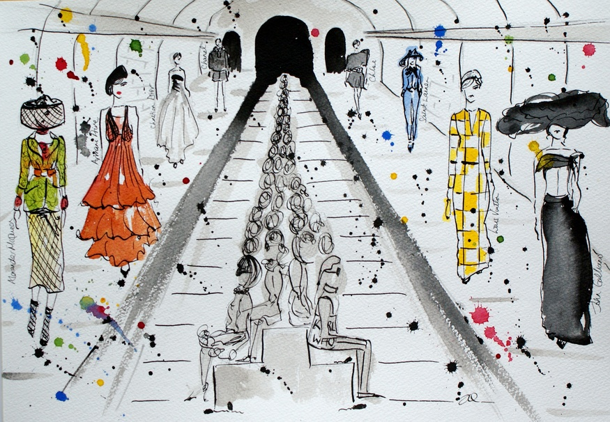 Londonist Underground: Tube Fashion
