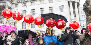 In Pictures: London Welcomes The Year Of The Snake