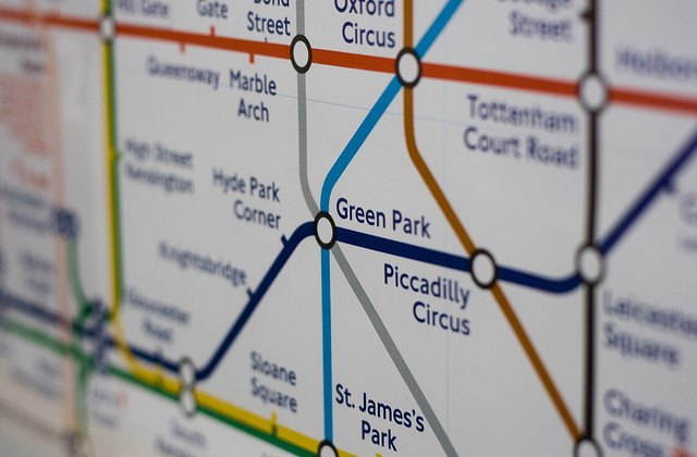 Can You Fathom The Route Of The One Stop Tube Walk?