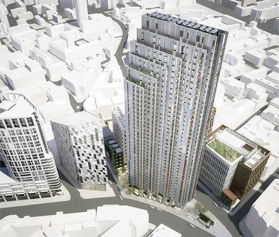 New Residential Tower For City Road Approved