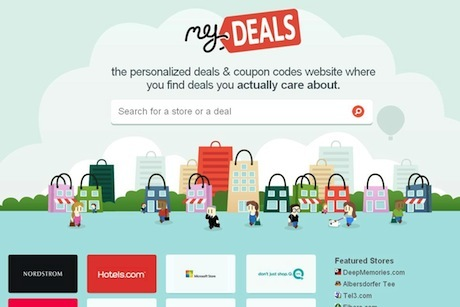 MyDeals.com: For Personalised Deals You Actually Care About