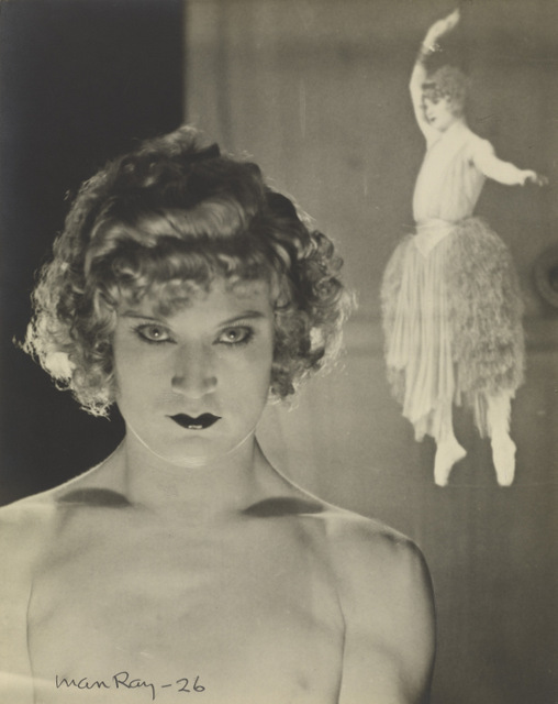 Barbette, 1926 by Man Ray  The J. Paul Getty Museum, Los Angeles, 84.XM.1000.39  © Man Ray Trust ARS-ADAGP