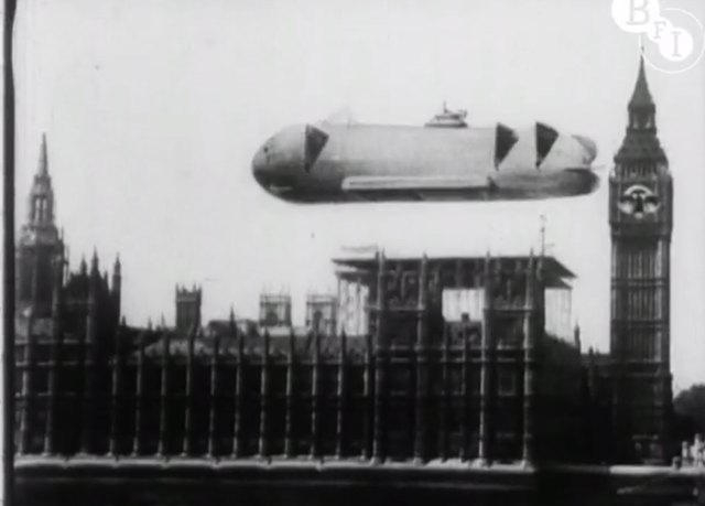 A Glimpse Of London's Future, From 1924