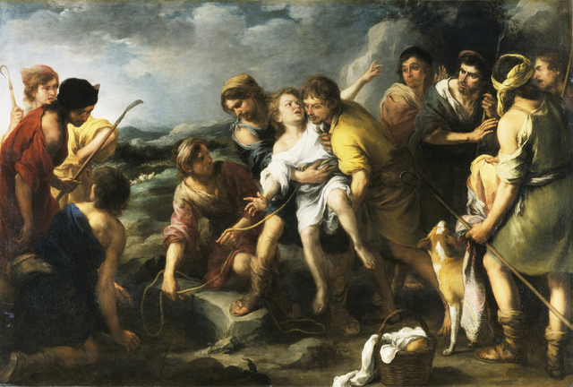 Bartolomé- Esteban Murillo, 'Joseph and his Brethren' c.1670 By kind permission of the trustees of the Wallace Collection