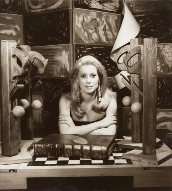 Catherine Deneuve, 1968 by Man Ray Private Lender © Man Ray Trust ARS-ADAGP / DACS