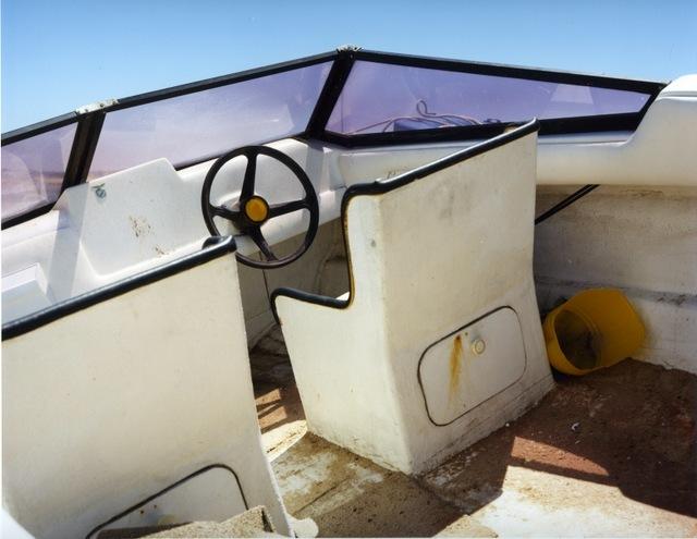 © Joachim Brohm, Boat Interior, courtesy Brancolini Grimaldi