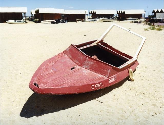 © Joachim Brohm, Boat #1, courtesy Brancolini Grimaldi