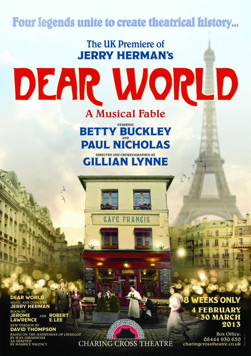 Theatre Review: Dear World @ Charing Cross Theatre