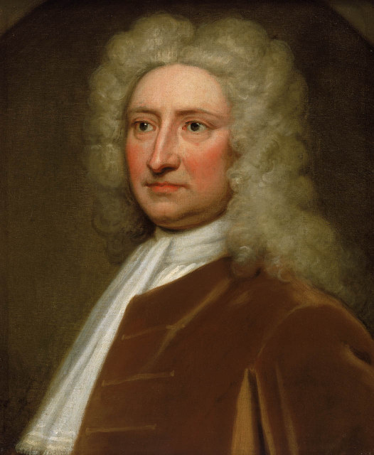 © National Maritime Museum, London. Edmund Halley, Astronomer Royal