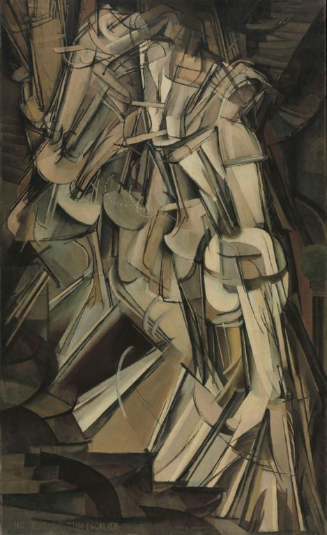 Marcel Duchamp Nude Descending a Staircase (No. 2),1912 Philadelphia Museum of Art, The Louise and Walter Arensberg Collection © Succession Marcel Duchamp, 2013, ADAGP/Paris, DACS/London