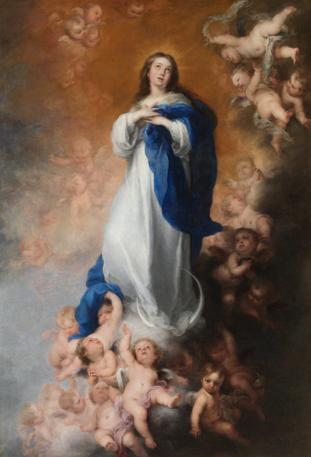 Bartolomé Esteban Murillo, The Immaculate conception of the Venerables Sacerdotes, 1660-65, oil on canvas, 274 x 190 cm, Photographic Archive. Museo Nacional del Prado, Madrid