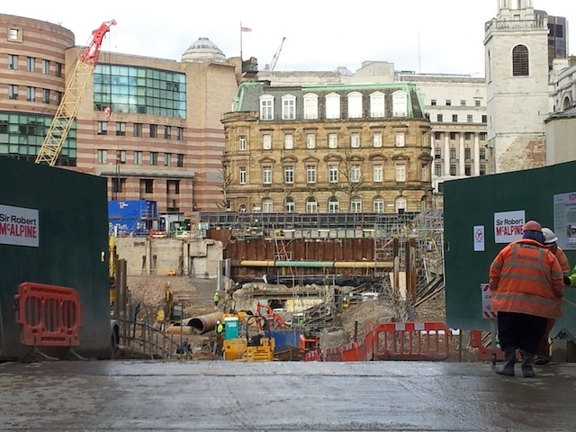 Temple Of Mithras Stays Boxed As City's Big Dig Continues