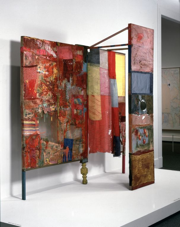 Robert Rauschenberg Minutiae, 1976 (replica of 1954 original) Collection Walker Art Center, Minneapolis. Walker Art Center, Merce Cunningham Dance Company Collection © The Robert Rauschenberg Foundation. DACS, London/VAGA, New York 2013