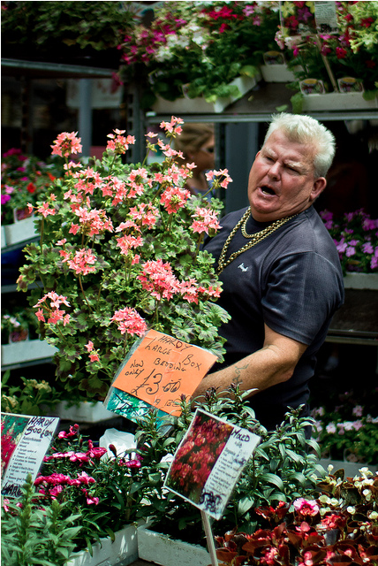 Colombia Road Flower Market by BobbyCons