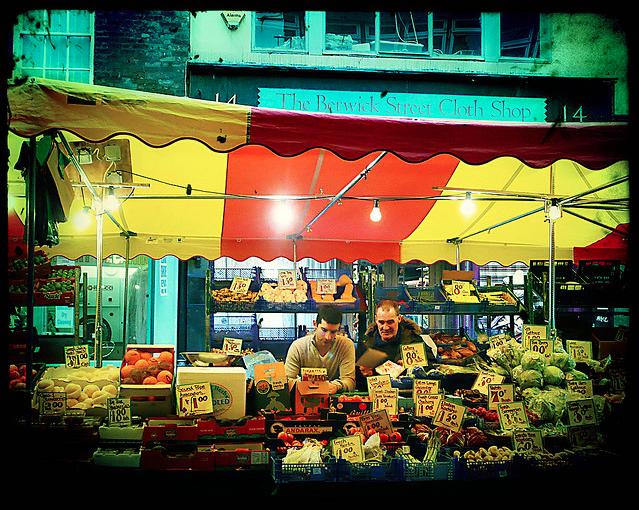 Berwick Street Market by buckaroo kid