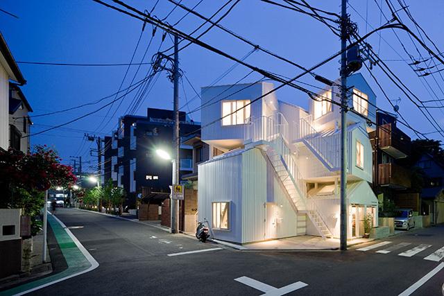 An apartment block in Tokyo, designed by Sou Fujimoto (Photograph: Iwan Baan)