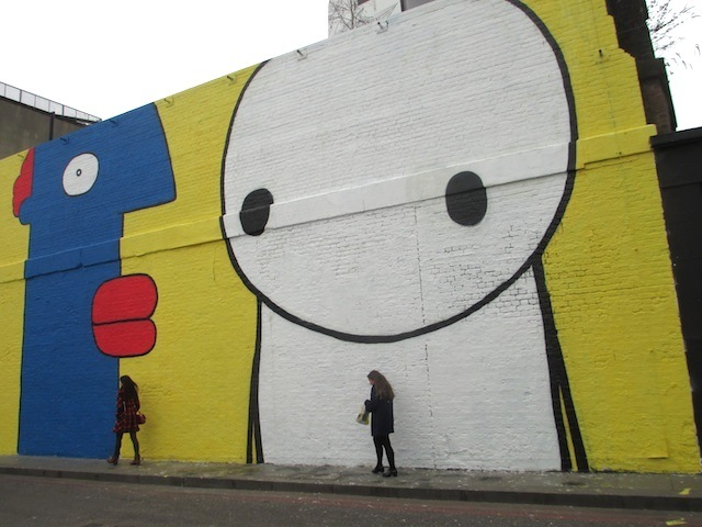 Street Art: Stik And Thierry Noir Paint Up Village Underground
