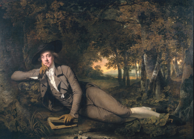 Joseph Wright, Sir Brooke Boothby 1781. Tate