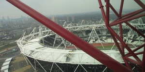 Orbit Tower Reopens, Offering Views Of The Olympic Park