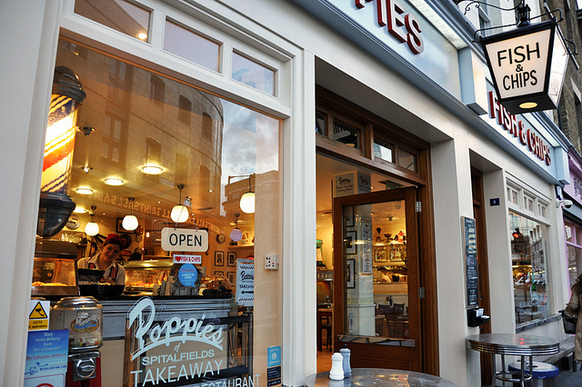 """London's Best Fish & Chip Shop"" Opens Camden Restaurant"