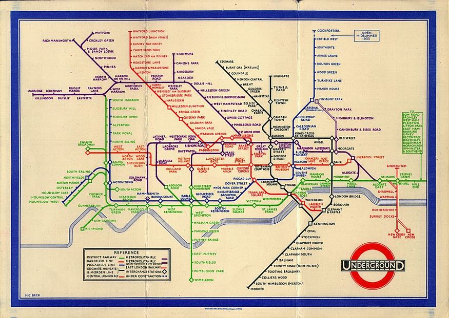 Tube Map Pioneer Harry Beck Receives Blue Plaque