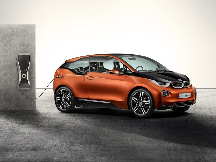 i3 Concept Car Designed by BMW. Image courtesy Design Museum