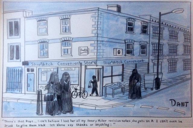 Adam Dant. Image courtesy Eleven Spitalfields Gallery.