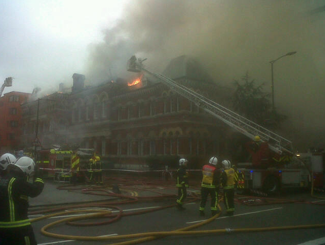 Breaking News: Fire At Newington Library And Cuming Museum