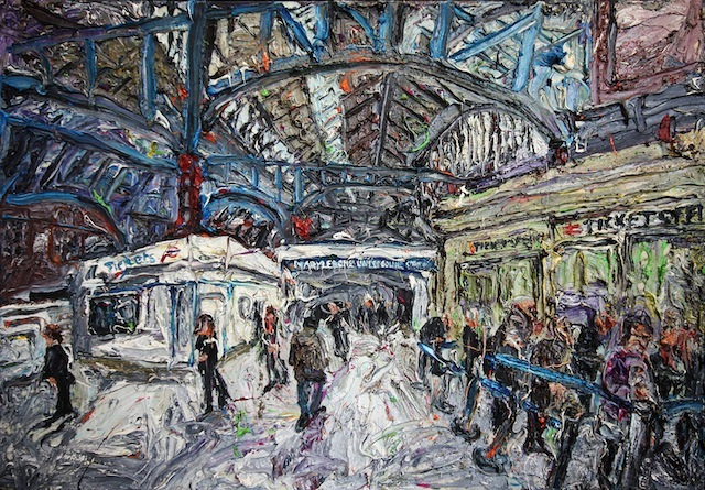 Going Underground: Ross Ashmore Paints Every Tube Station