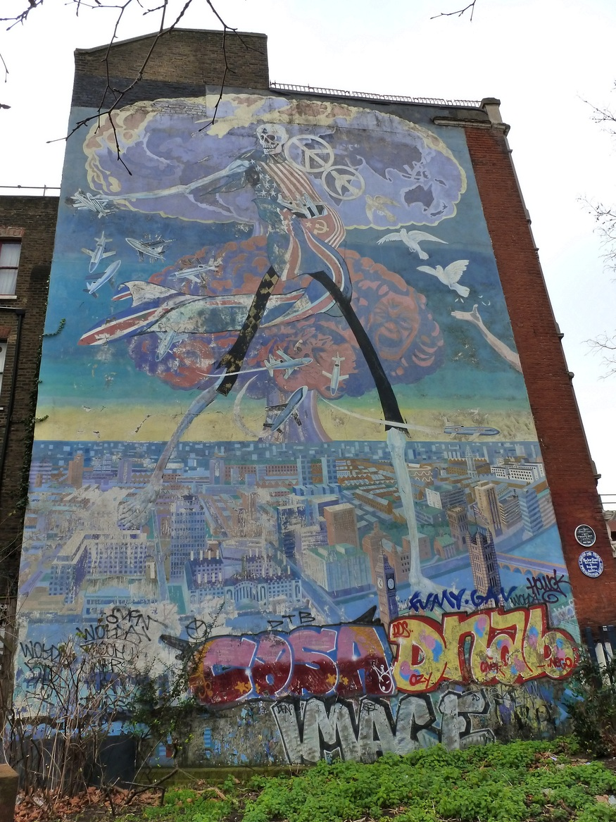 Help Save The Brixton Nuclear Dawn Mural