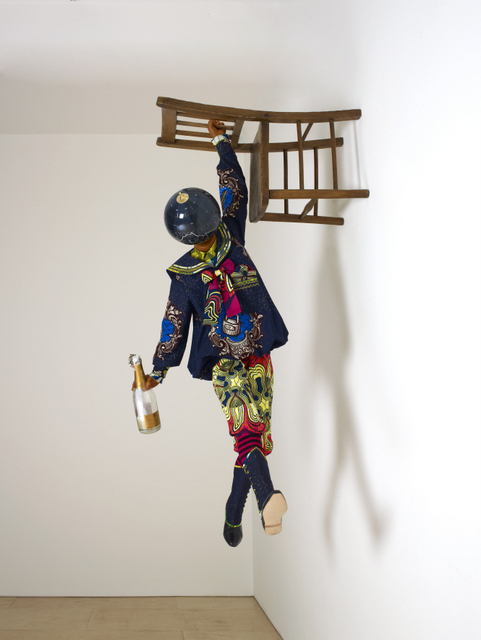 Yinka Shonibare, Champagne Kid, 2013. Image copyright the artist. Image courtesy of the artist and Stephen Friedman Gallery, London. Photography Stephen White.