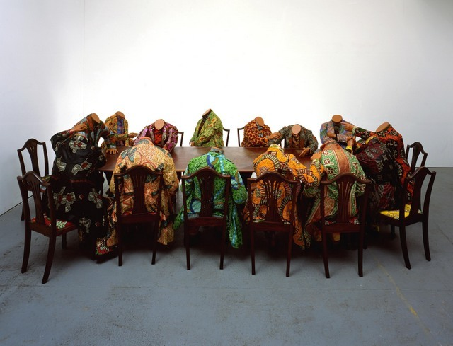 Yinka Shonibare, Scramble for Africa, 2003. Image copyright the artist. Image courtesy of the artist and Stephen Friedman Gallery, London. Photography Stephen White.