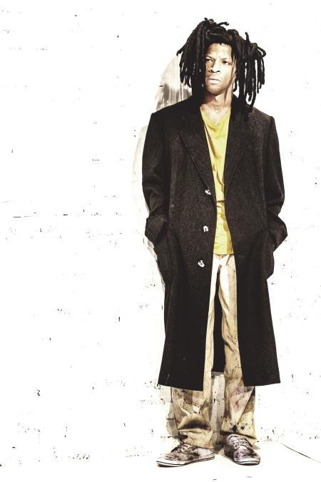 Michael Walters as Jean-Michel Basquiat / photo by Idil Sukan