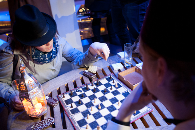 What do do in Casablanca? Play chess of course