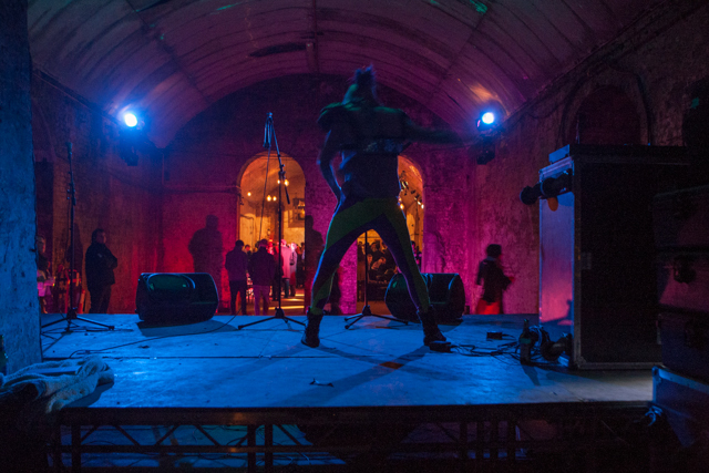 The after party took place in the Old Vic Tunnels.