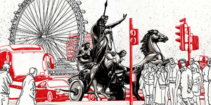 Time Travel London: Boudica In A Traffic Jam