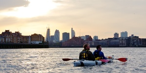 Row, Row, Row Your Kayak Gently Down The Thames
