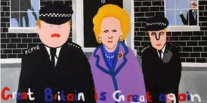 Thatcher Posters Banned From Tube (Sort Of)