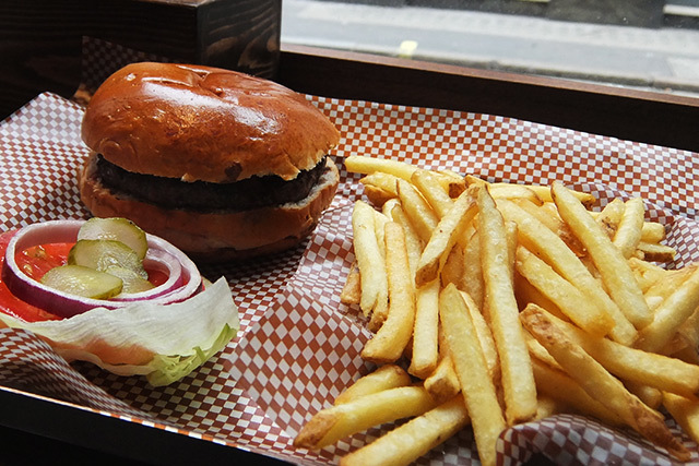 What's For Lunch? BRGR.Co, Wardour Street
